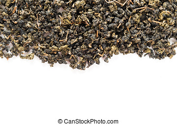 chinese tea on white isolated background