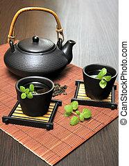 Tea Set with Teapot