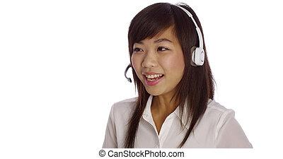 Chinese telemarketer