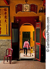 chinese temple in ho chi minh vietnam