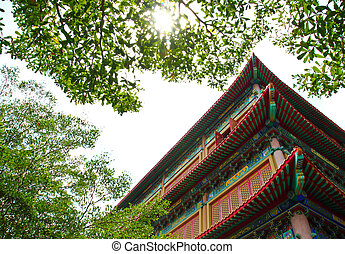 chinese temple in Thailand (Wat Lang Nui Yee 2)