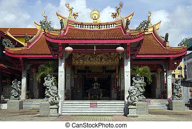 Chinese Temple, Phuket CIty, Thailand