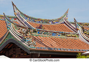 chinese temple roof