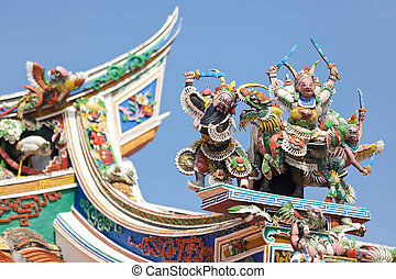 chinese temple sculpture