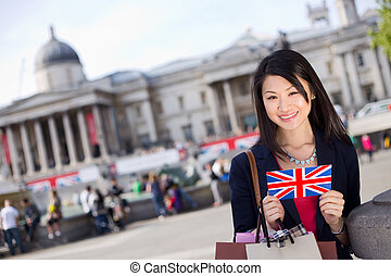 chinese tourist in London