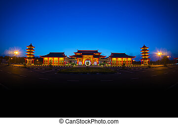 chinese traditional building