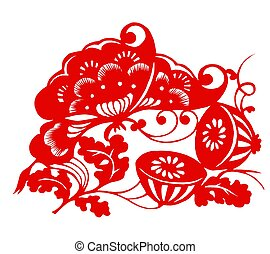 Chinese Zodiac of Lotus - Chinese traditional...