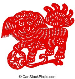 Chinese Zodiac of unicorn