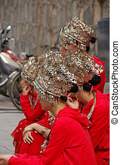 Chinese traditional dancers5