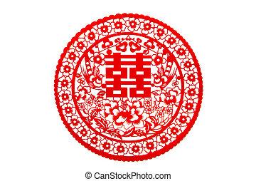 Chinese wedding greeting word