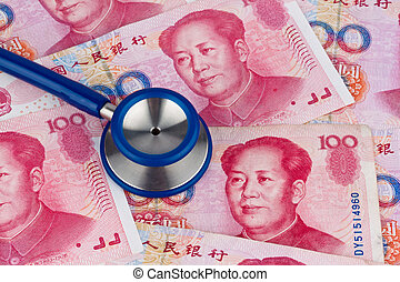 Chinese yuan banknotes - Chinese Yuan banknotes and...