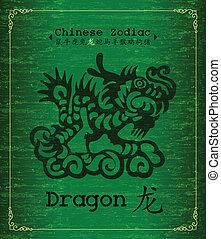 Chinese Zodiac - Dragon