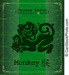 Chinese Zodiac-monkey