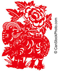Chinese zodiac of sheep