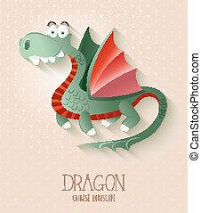 Chinese zodiac set Year of the Dragon
