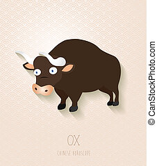 Chinese zodiac set Year of the Ox