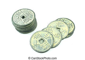chinesisches , geldmünzen