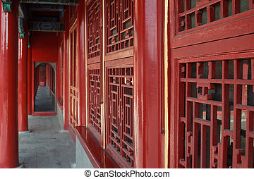 chinesisches , uralt, architektur