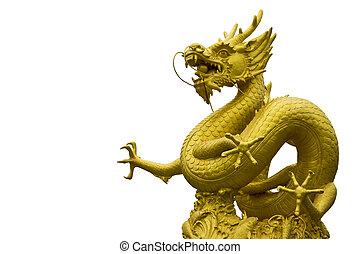 chiness, phuket , άγαλμα , δράκος