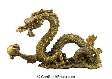 chino, imperial, dragón