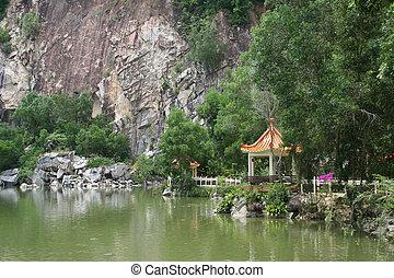 chino, pagodas
