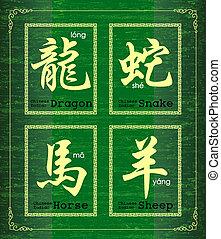 chino, zodíaco