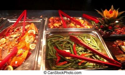 chinois, buffet