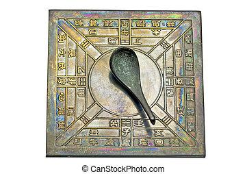 chinois, compas
