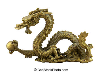 chinois, impérial, dragon