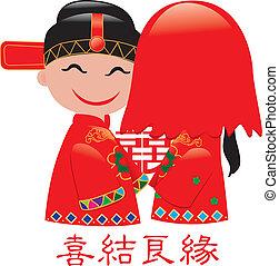 chinois, mariage