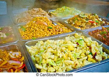 chinois nourriture, buffet