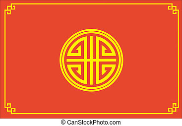 chinois, shui, feng, symbole