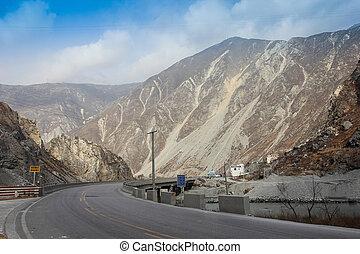Chinse Mountain landscape