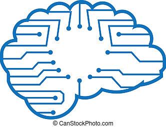 Chip brain electronic