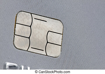 chip of a credit card