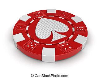 chip of casino