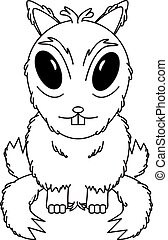 Chipmunk Character