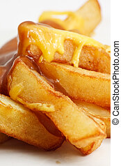 Chips, cheese and gravy