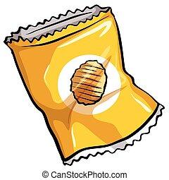 chips, poche