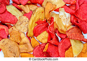 chips, rouges