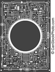 Chipsset digital background - Chipset digital background...