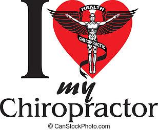 chiropractor, meu, amor