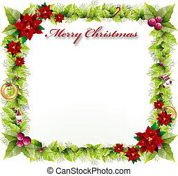 chirstmas background with beautiful concept