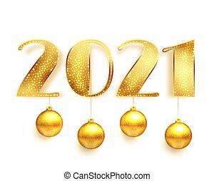 chirstmas, herék, arany-, 2021, tervezés, kártya