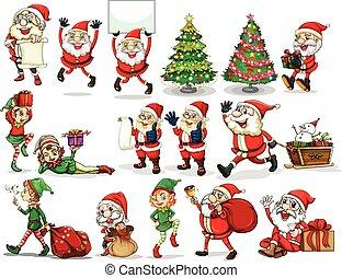 Chirstmas - Stickers of Christmas theme