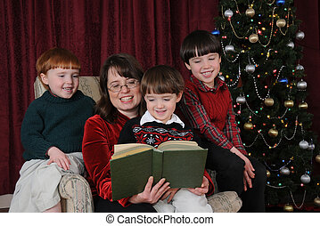 Chirstmas Tales - A mother reads Christmas stories to her ...