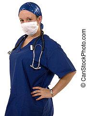 chirurg, schrobt