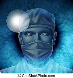 chirurgie, auge