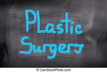 chirurgie, begriff, plastik