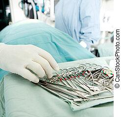 chirurgie, détail